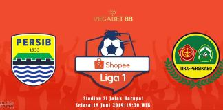Prediksi Persib Bandung vs TIRA Persikabo - 18 Juni 2019