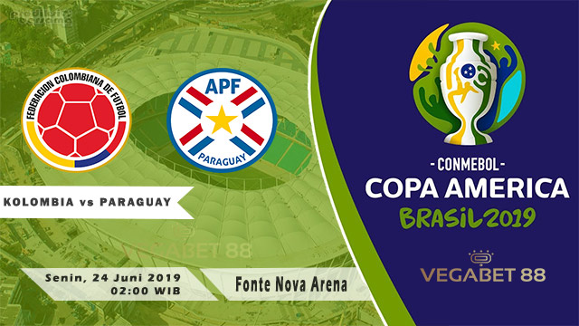 Prediksi Copa America: Kolombia vs Paraguay - 24 Juni 2019