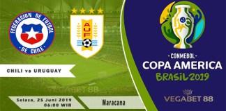 Prediksi Copa America: Chili vs Uruguay - 25 Juni 2019