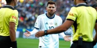 Keputusan CONMEBOL Larang Messi bermain di Laga Internasional