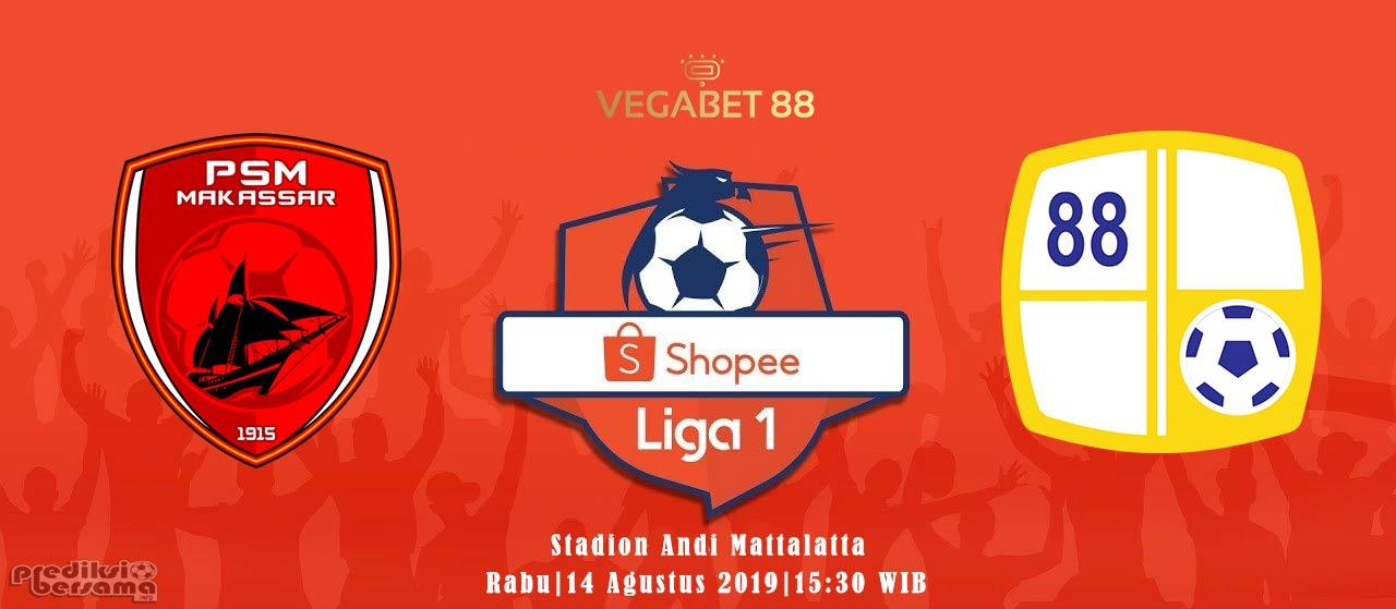 Prediksi PSM Makassar vs Barito Putera - 14 Agustus 2019