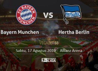 Prediksi Bayern Munchen vs Hertha Berlin - 17 Agustus 2019