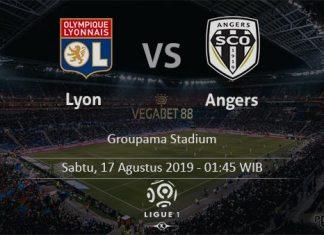 Prediksi Lyon vs Angers -17 Agustus 2019 - Ligue 1