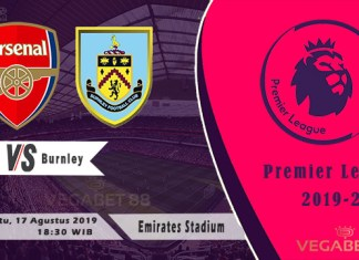 Prediksi Arsenal vs Burnley - Premier League 2019-20