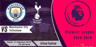 Prediksi Manchester City vs Tottenham - Premier League 2019-20