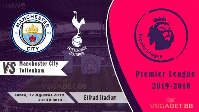 Prediksi Manchester City vs Tottenham - Premier League 2019-20