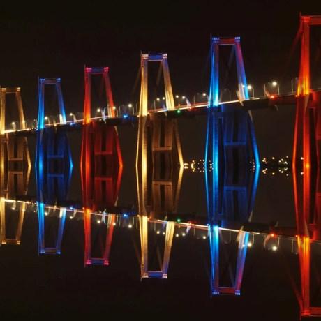 AJ-3 Puente sobre el lago de Maracaibo