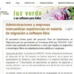 Foro Migraciones a Software Libre