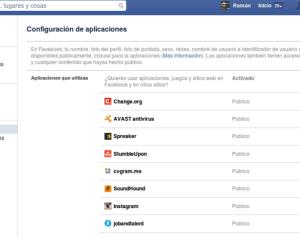 Accesos con facebook