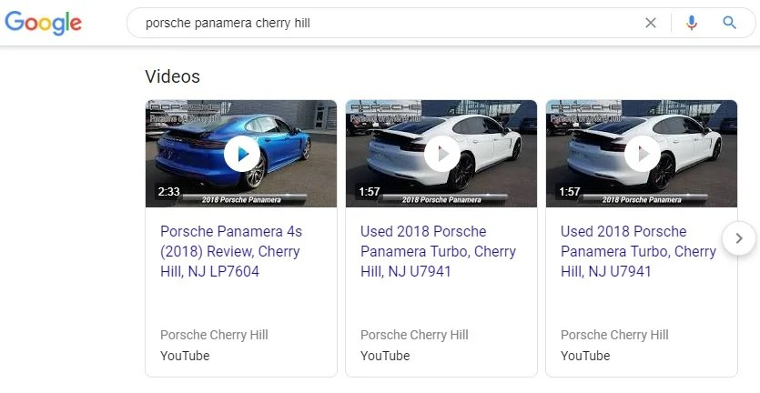Video Search Reults