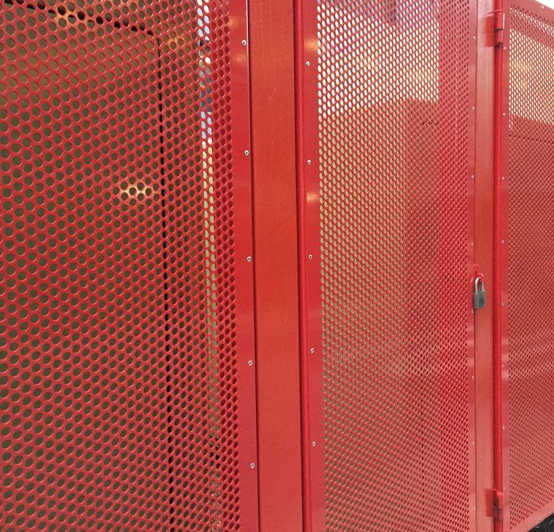 Vented Door / Red Wolf