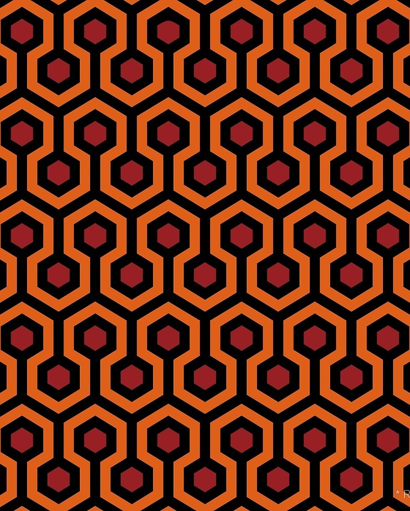 Overlook Hotel Carpet from The Shining / Red Wolf