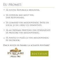 Campania de pe Facebook a celor de la Bastavan si Purcari Wines