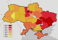 Harta salariilor din Ucraina