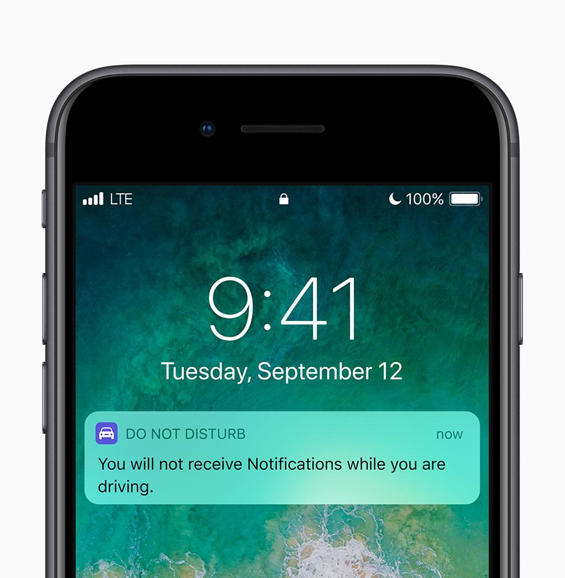 iOS 11 Do Not Disturb