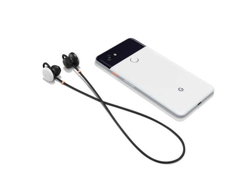 Pixel Buds with Google Pixel 2