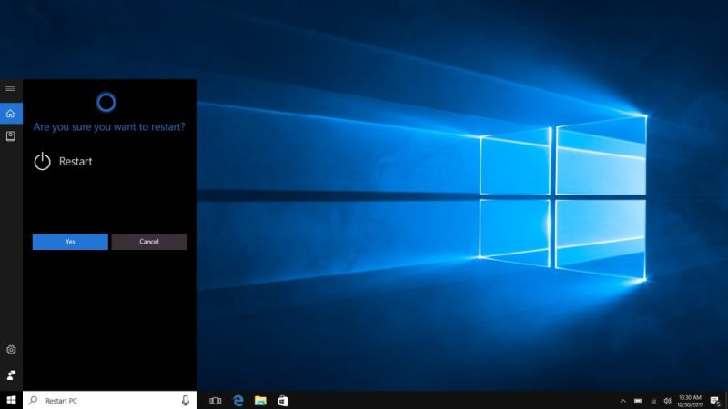 Cortana in Windows 10 Fall Creators Update