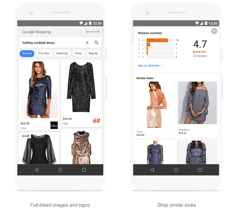 Google Apparel Search