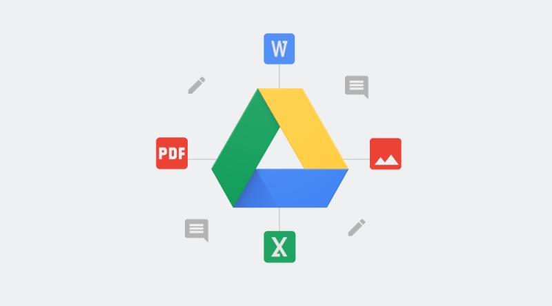 Google Drive Bloc Hero