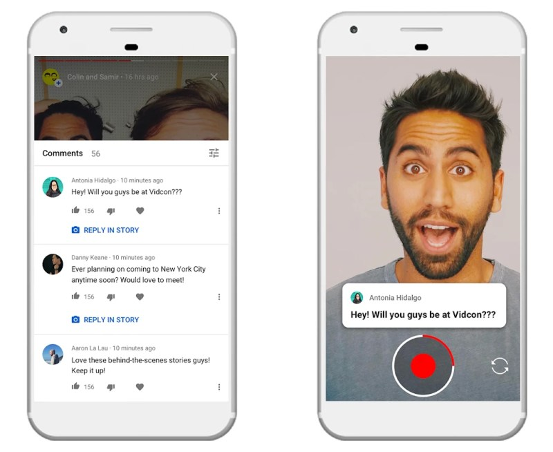YouTfube Stories on iPhone and Android