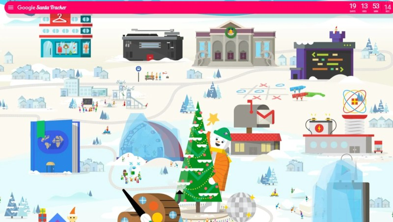 Google Santa Tracker - Santa Village