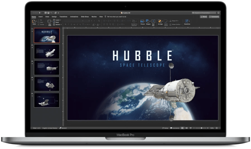 Office for Mac support for macOS Mojave Dark Mode