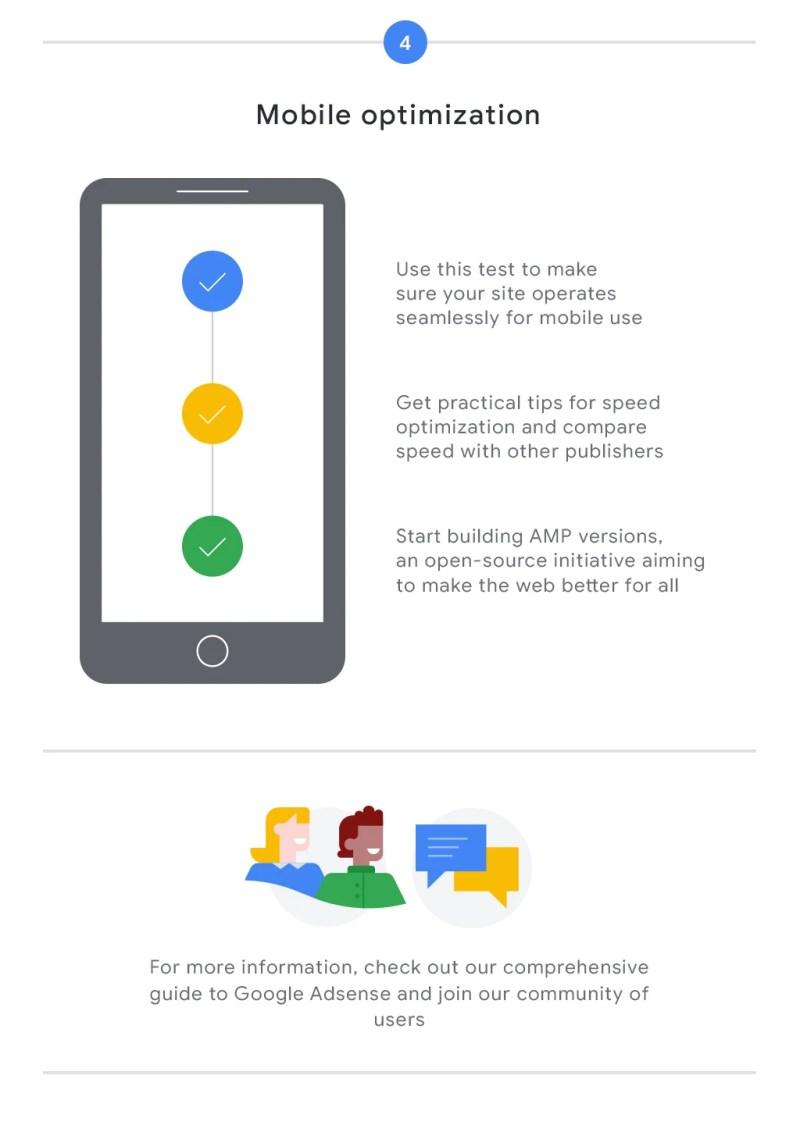 Google AdSense Infographic Mobile Opimization