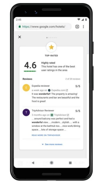 Google Hotels Highlights Expanded