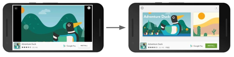 Google AdMod Rewarded video ad format