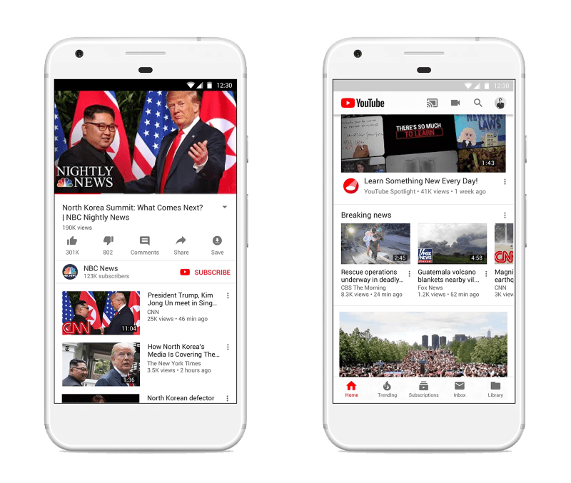Top and Breaking News on YouTube exapnds into more counties