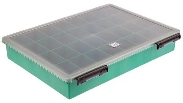 boite compartimentee rs pro 32 compartiments plastique 57mm x 338mm x 260mm