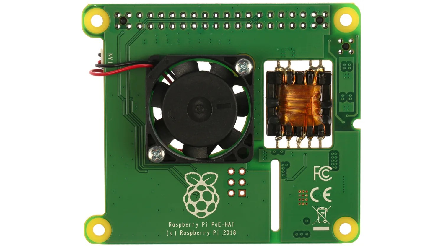 Poe Board Raspberry Pi Official Power Over Ethernet Poe Hat For Raspberry Pi Rs Components
