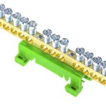 1sna356103r0400 Entrelec Dbti Earth Bar For Terminal Block Rs Components