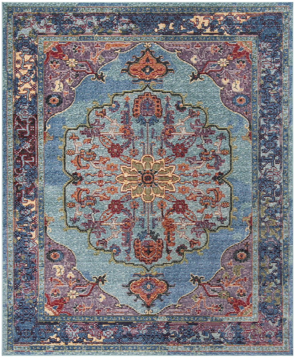 Safavieh Harmony Hmy402a Blue Purple Rug Studio