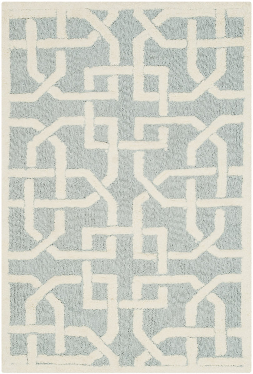 Safavieh Newport Npt441b Light Blue White Rug Studio