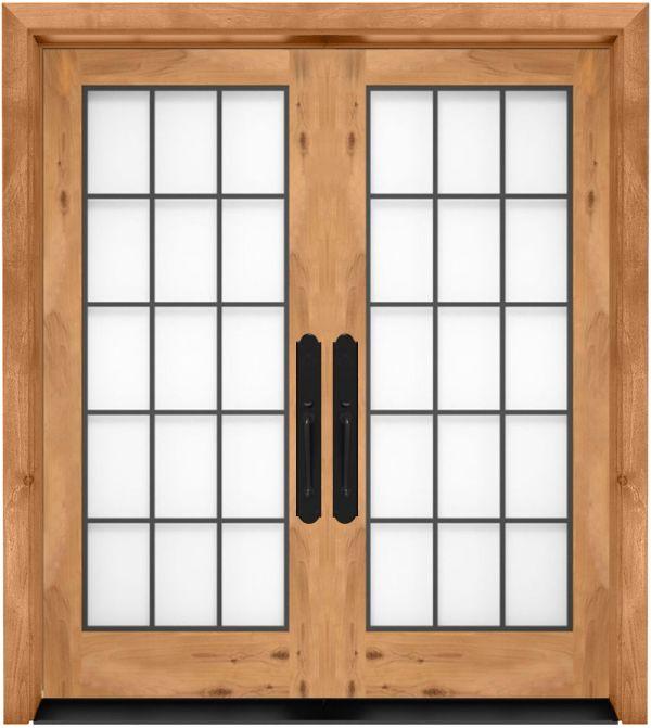 french doors custom interior french