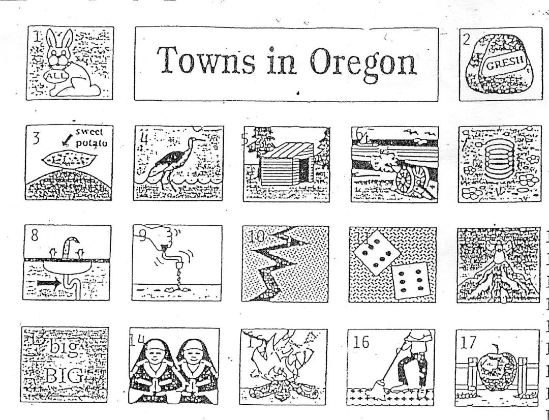 How Many Oregon Towns Can You Guess From This Old Quiz