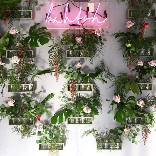 Bahtoh floral wall qzgf2q