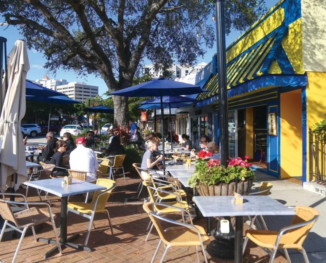 favorite outdoor dining destinations