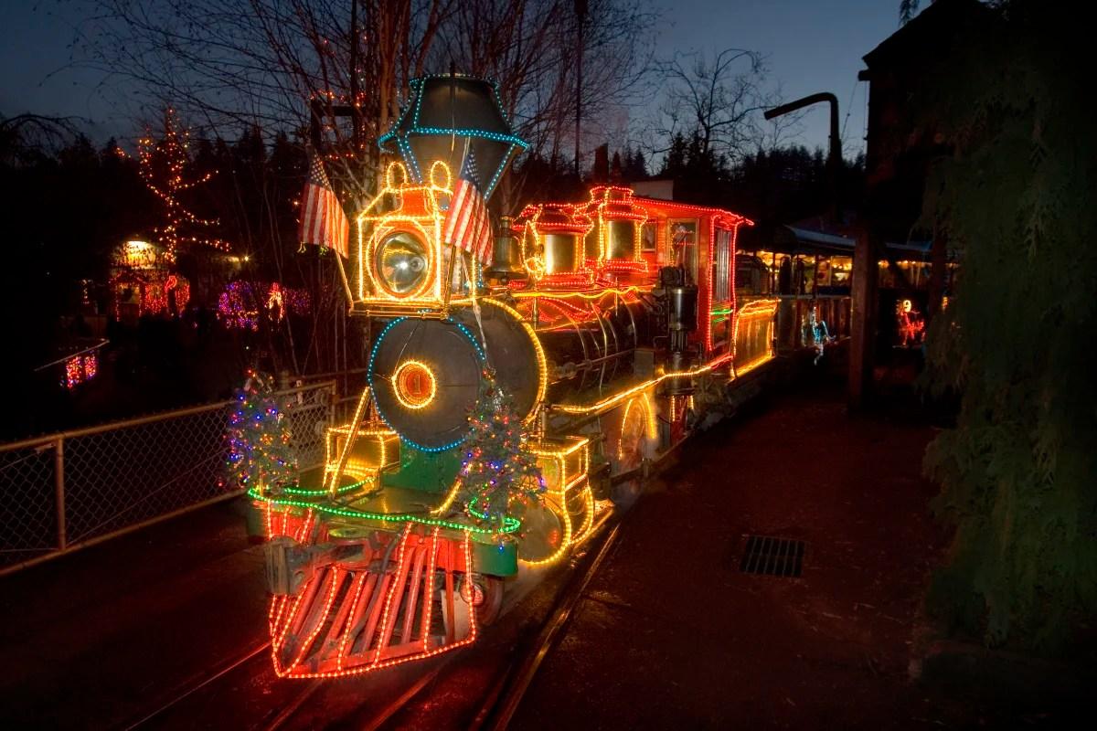 Zoo Light Portland Oregon