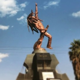 Bob marley statue ethiopia xffvms