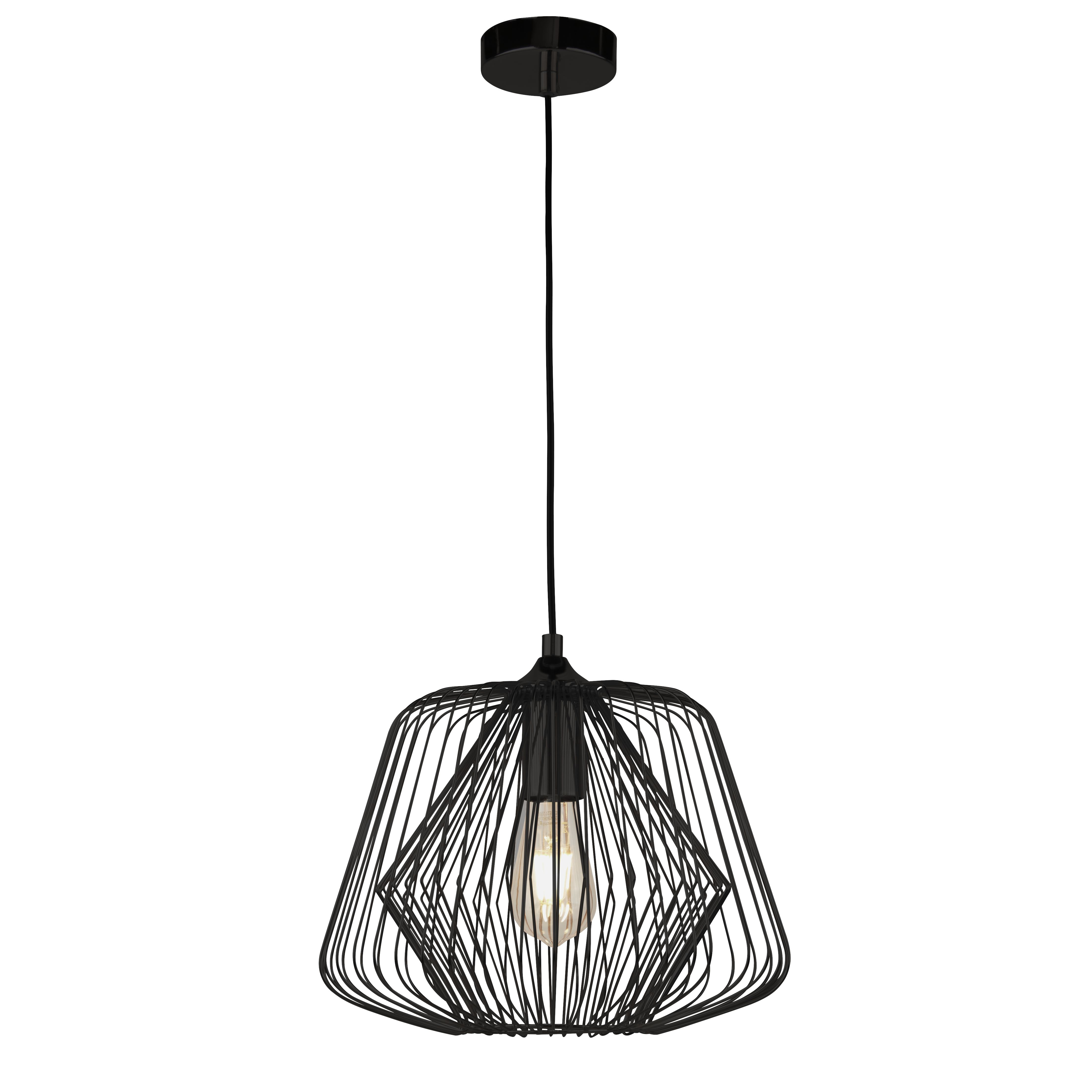 Bell Cage 1lt Cage Pendant