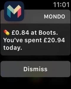 Mondo notification