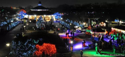 Lights 2017 Christmas Brookfield Zoo