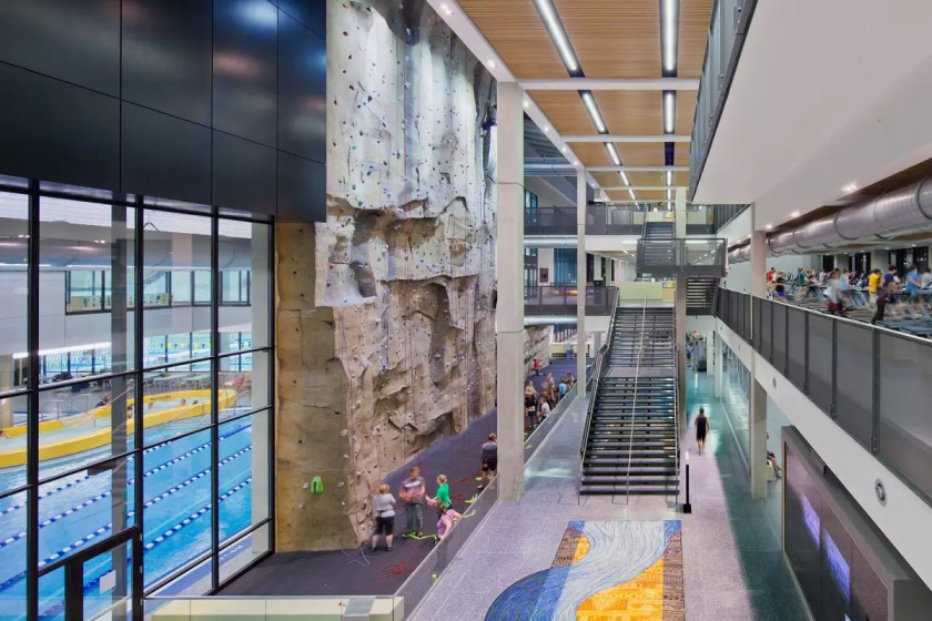 Image result for university of iowa rec center
