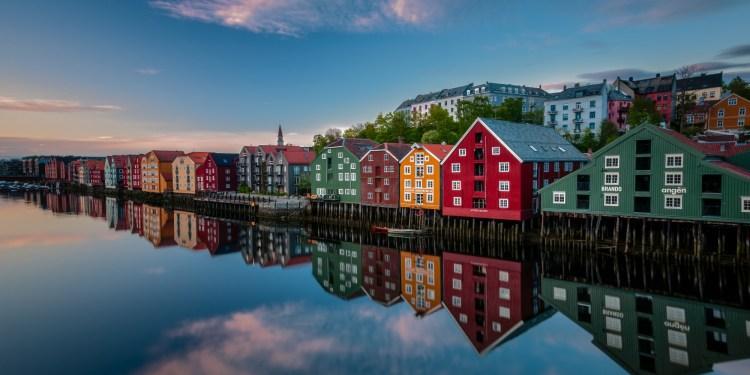 Destinasi wisata untuk penggemar film: Trondelag, Norwegia.