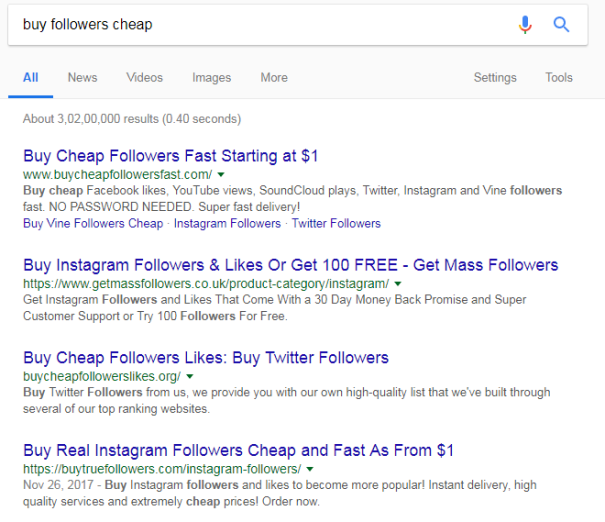 Buy Followers Cheap