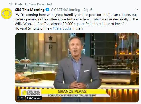 CBS Starbucks