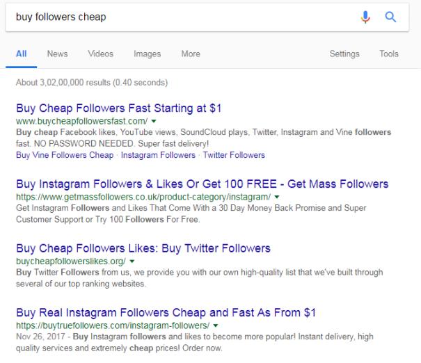 Buy Followers Cheap
