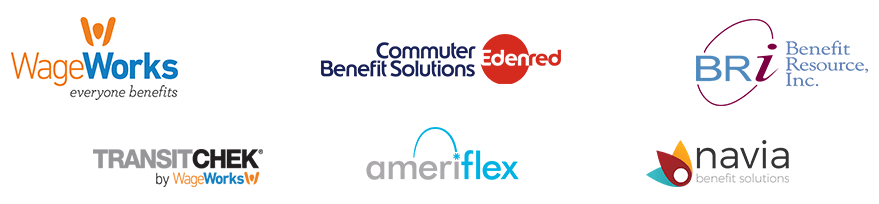 Accepted Commuter Benefits Cards